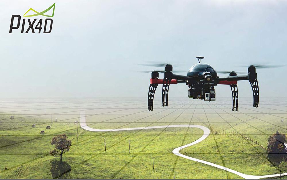 programine iranga dronams pix4d
