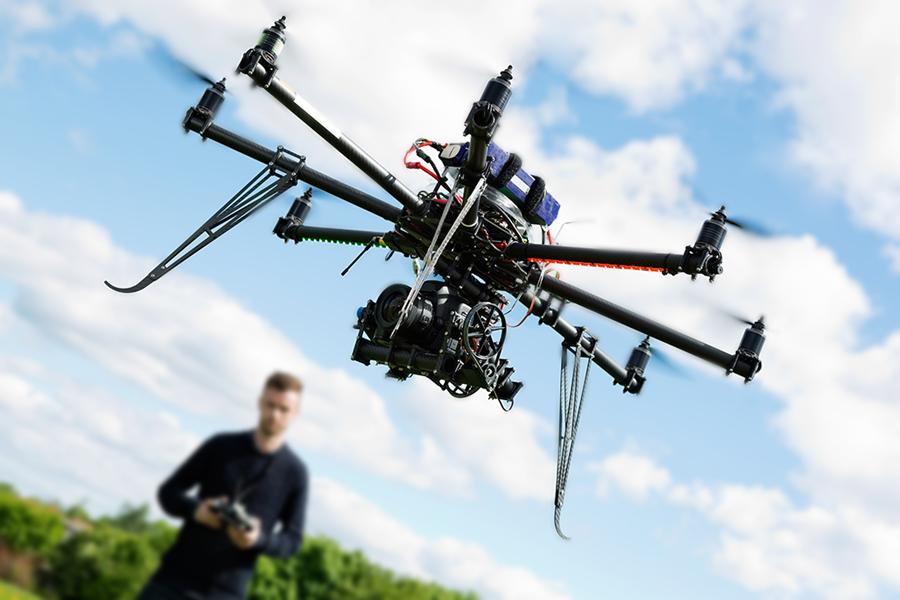 Matuojame ivairius objektus drono pagalba